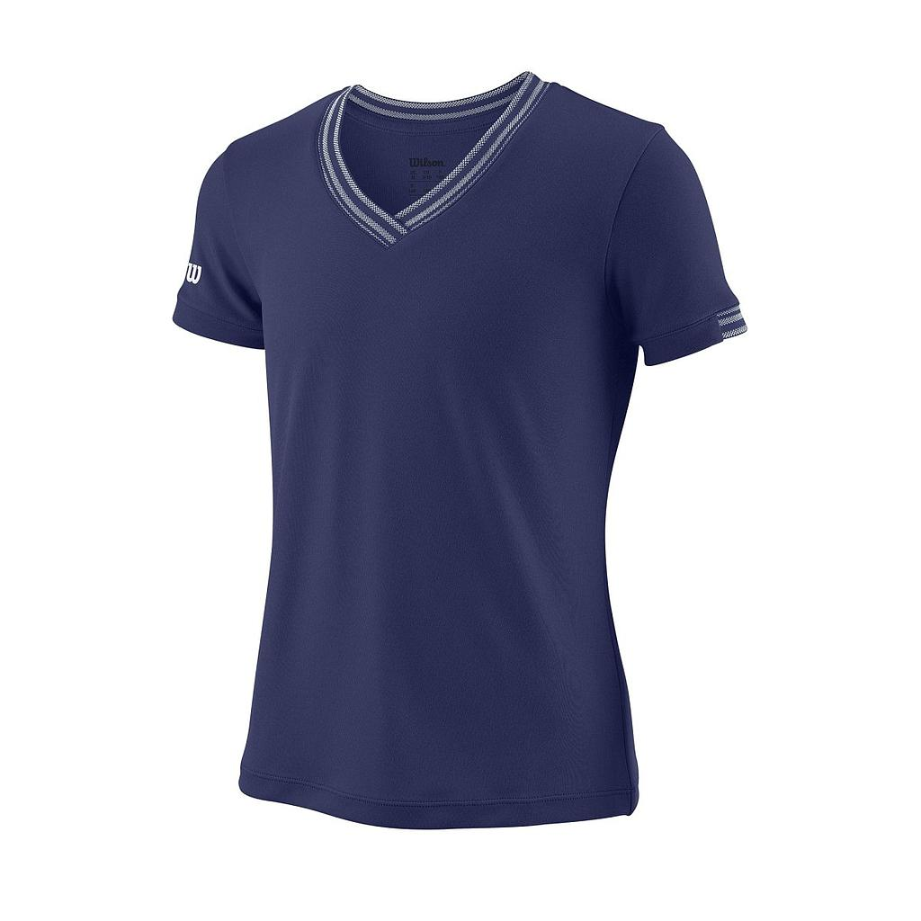 G TEAM V-NECK BLUE DEPTH