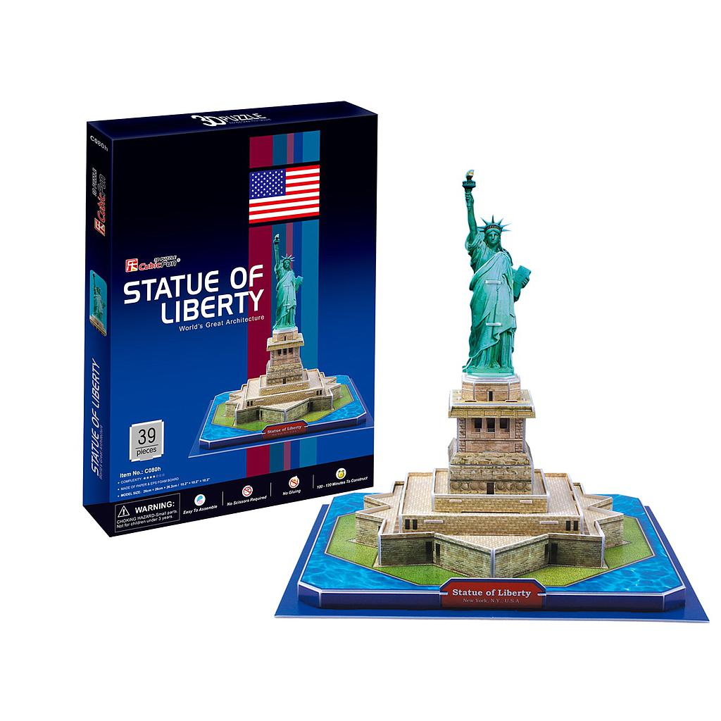 3D PUZZLE - STATUE OF LIBERTY 1409K369
